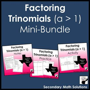 Factoring Trinomials (a > 1) Mini-Bundle