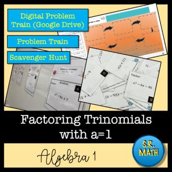 Factoring Trinomials (a=1) Problem Trains