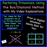Factoring Trinomials (a > 1) the Easy Way