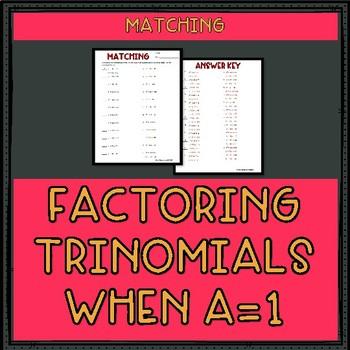 Factoring Trinomials when a... by Mr Greenlaw Math | Teachers Pay ...