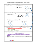 Factoring Trinomials with Leading Coefficient Other than 1