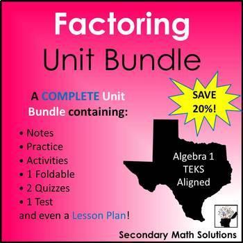 Factoring Unit Bundle (A10D, A10E, A10F)