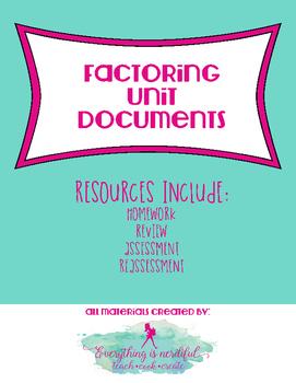 Factoring Unit Documents