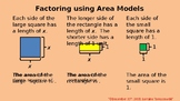 Factoring Using Area Models