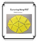 Factoring Using GCF Tarsia Puzzle