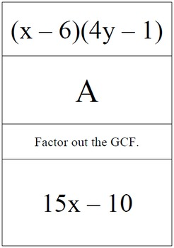 Factoring Using the AC Method - Problem Trail