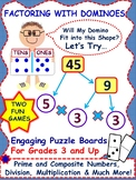 """Factor Tree"" Games Using Dominoes Are Motivating and Fun"