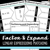 Factoring and Expanding Linear Expressions Activity