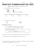 Factoring and Graphing Polynomial Bundle