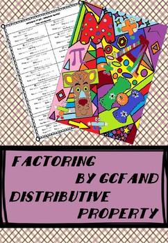 Factoring by GCF / Distributive Property