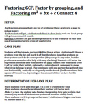 Factoring connect 4