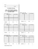 Factoring quadratics by listing factors and sums #1