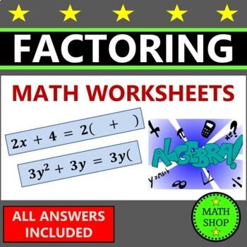 Factoring Algebra Expressions