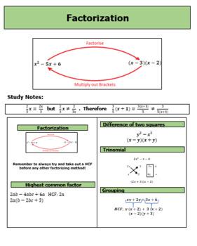 Factorization Module