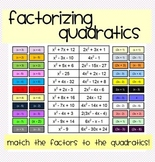 Factoring Quadratics