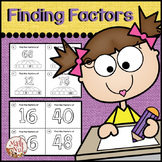"""Factors and Multiples """"Finding the Factors"""" (Numbers less than 100)"""