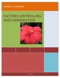 Factors Affecting Germination