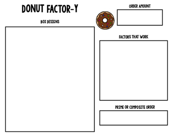 Factors: An Interactive Factors/Multiplication Activity