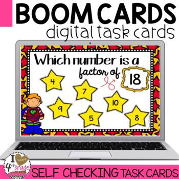 Factors Boom Cards