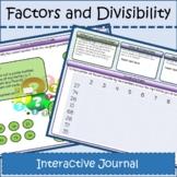 Factors & Divisibility Interactive Journal