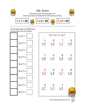 Factors From The Sea with Worksheets