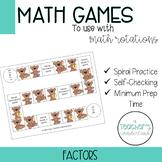 Factors Math Game [Low-Prep]