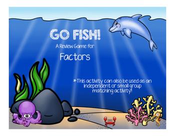 Factors Go Fish!