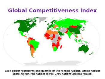 Factors Influencing International Competitiveness - UK & World Economics