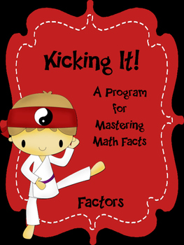 Factors - Kicking It! Math Factors Fluency