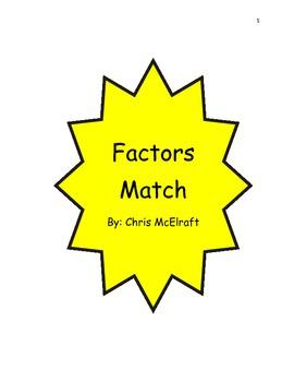 Factors Match
