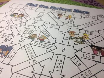Factors Maze
