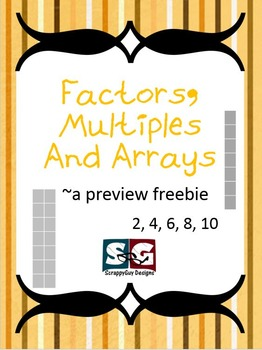 Factors, Multiples, Arrays Math Preview