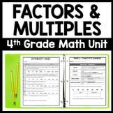 Factors & Multiples: 5-Day Number Sense Bundle, 4.OA.4