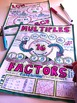 Factors & Multiples Doodle Notes