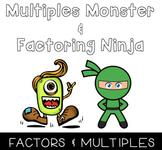 Factors & Multiples Posters