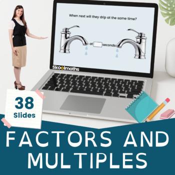 Factors, Multiples, & Prime - 9th-10th grades, GCSE