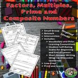 Factors Multiples Prime Composite Review Worksheets Printa