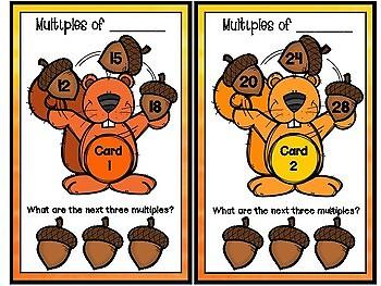 Factors & Multiples, Prime & Composite Numbers