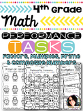 Factors, Multiples, Prime & Composite Numbers 4th Grade Pr