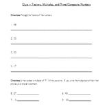 Factors, Multiples, Prime, and Composite - 4.OA.4