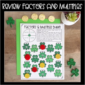 Factors, Multiples, Prime and Composite Number Games