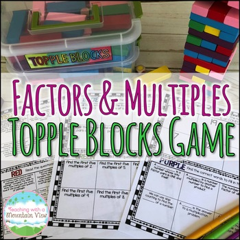 Factors Multiples Prime and Composite Numbers Game