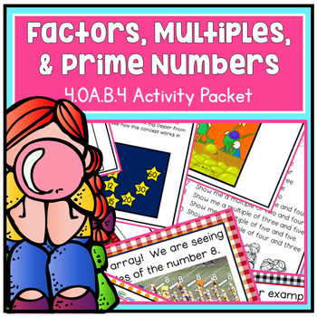 Factors, Multiples, Prime and Composites - Fourth Grade 4.