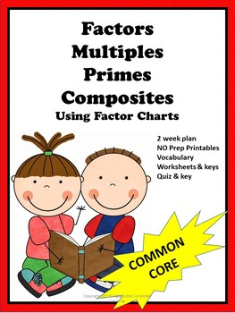 Factors, Multiples, Primes, and Composites