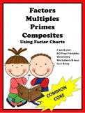 Factors, Multiples, Primes, and Composites
