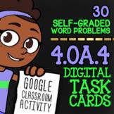 4.OA.4 Task Cards ★ Factors & Multiples Activity ★ Self-Graded Google Classroom