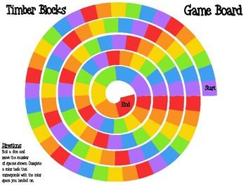 Factors & Multiples Timber Blocks (Jenga Based OR Board Based Game)