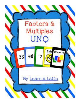 Factors & Multiples UNO