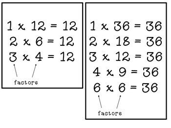 Factors, Multiples, and Prime and Composite Numbers: Common Core 4.OA.B.4