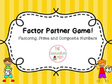 Factors Partner Game